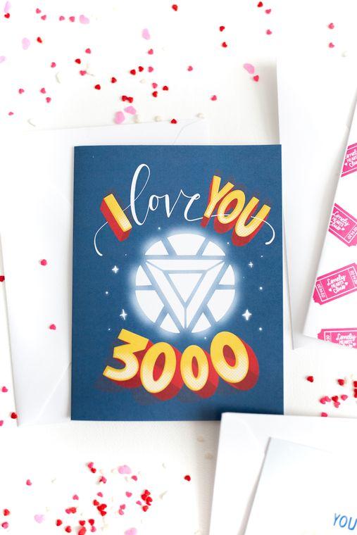I Love You 3000 - Card