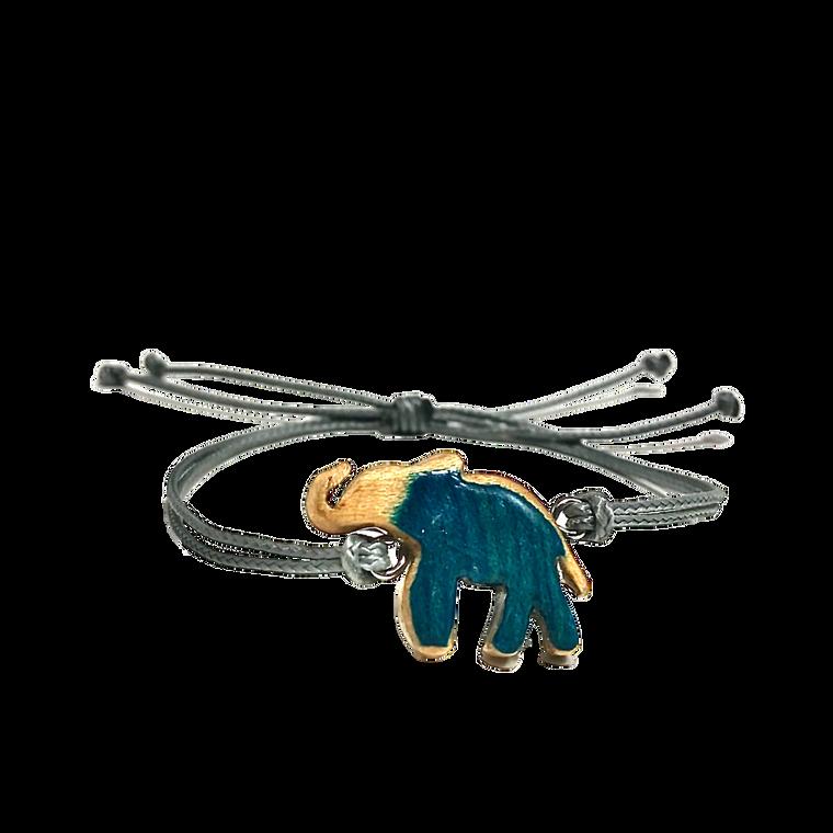 Skateboard Elephant Bracelet