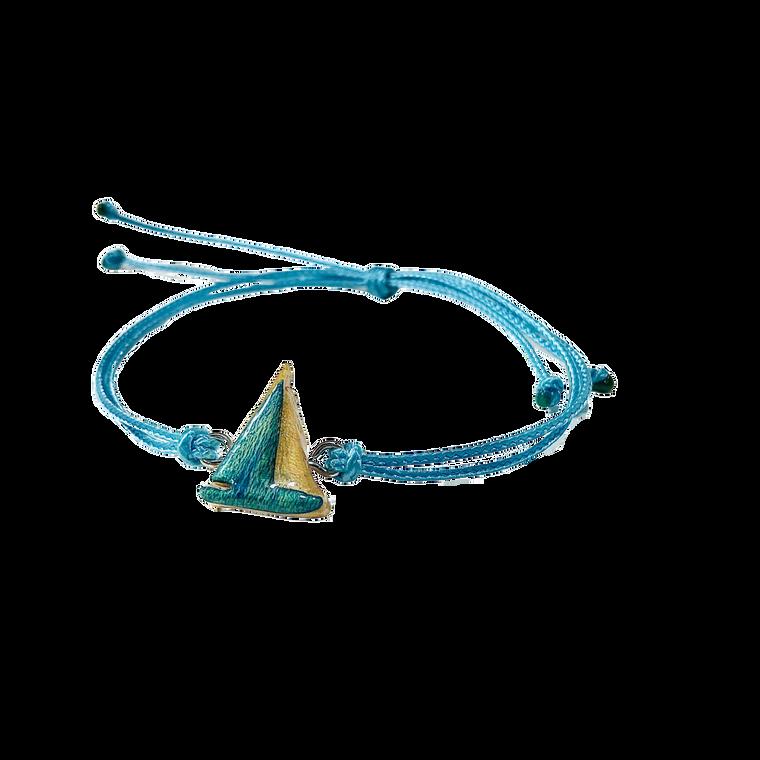 Skateboard Sailboat Bracelet