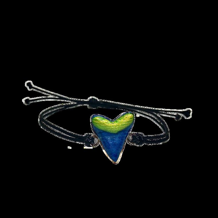 Skateboard Shark Tooth Bracelet