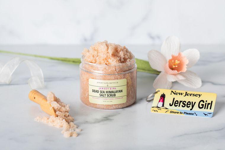 Jersey Girl | Himalayan Salt Scrub | Dead Sea Salt Body Scrub