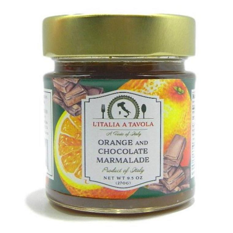 Orange and Chocolate marmalade
