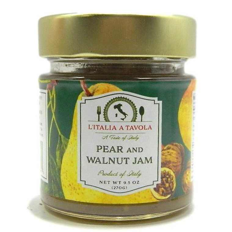 Pear and Walnut jam