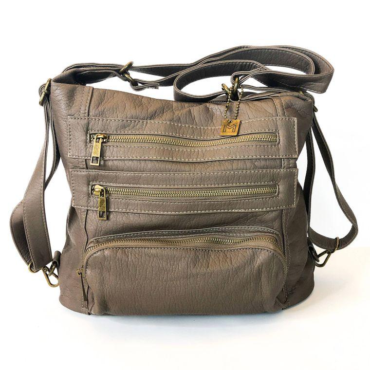 Yevon Handbag - Gray