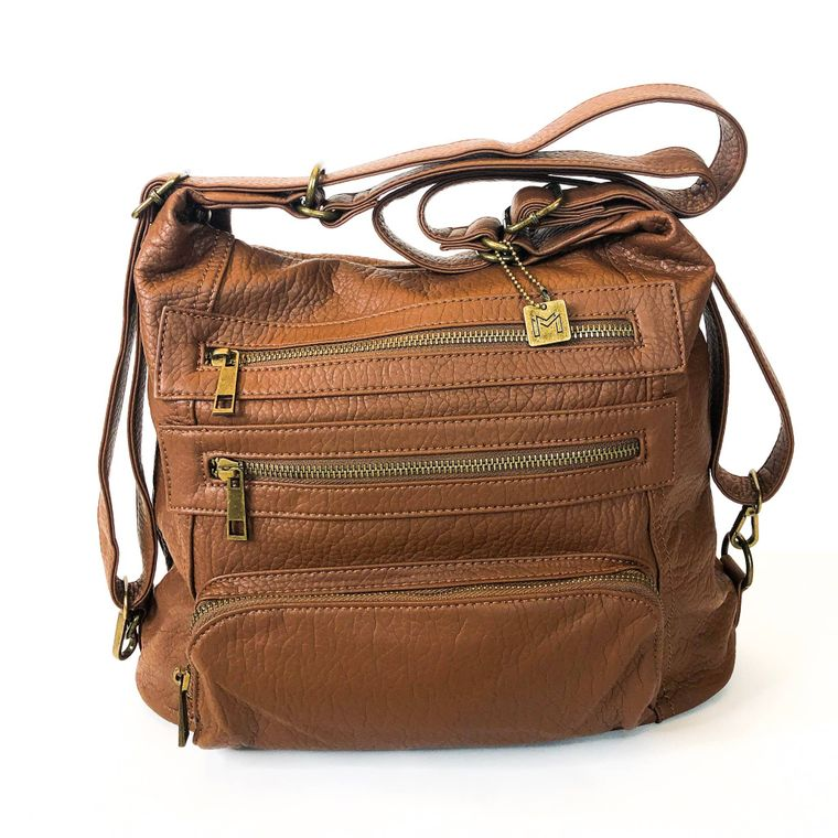 Yevon Handbag - Camel