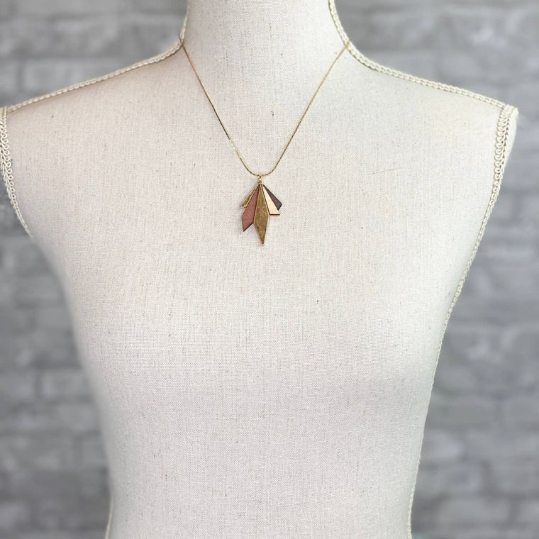 Inca Necklace - Brown