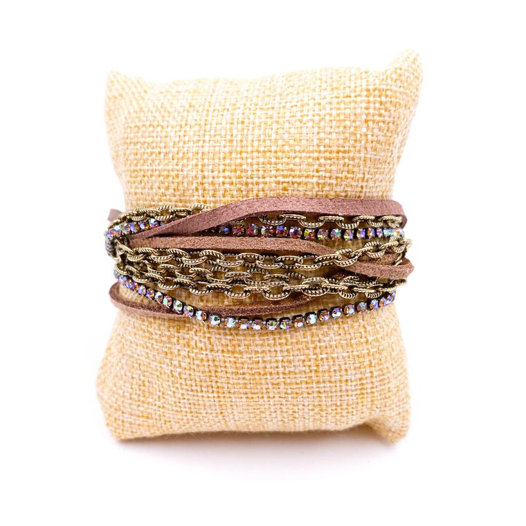Chained Bracelet - Topaz
