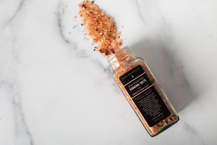 Enchanted | Soaking Salts for the Bath | Bath Salts in a Jar
