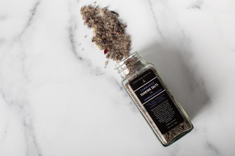 Submerge | Soaking Salts for the Bath | Bath Salts in a Jar | Soaking Salts | Bath Salts | Spa Gift