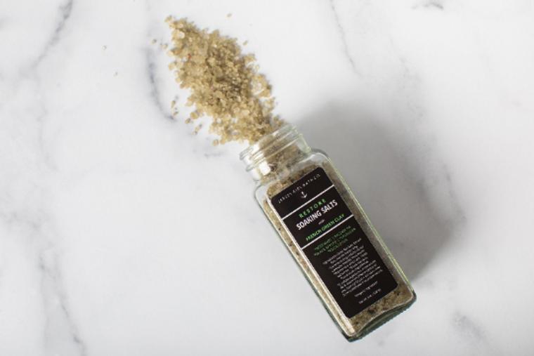Restore | Soaking Salts for the Bath | Bath Salts in a Jar | Soaking Salts | Restoring Bath Salts