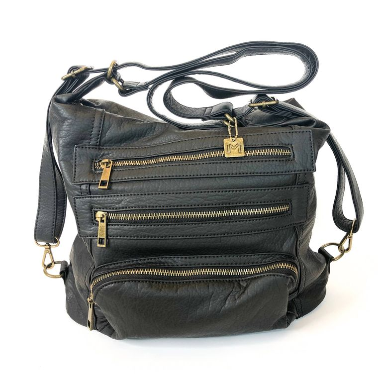 Yevon Handbag - Black