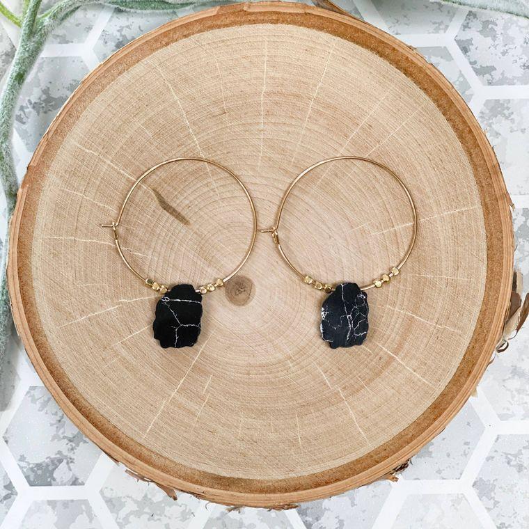 Brier Earrings - Black