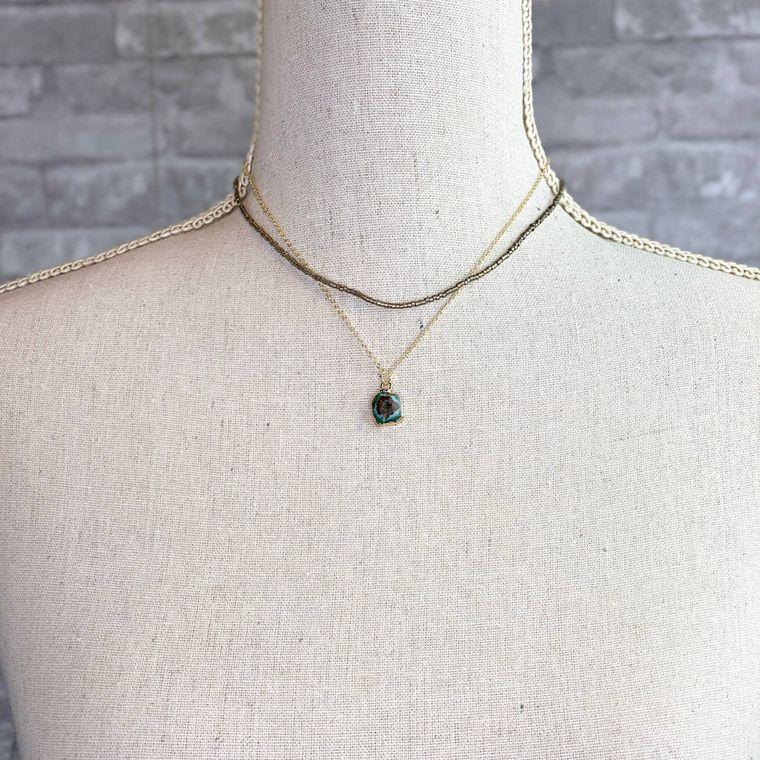 Scotland Necklace - Turquoise