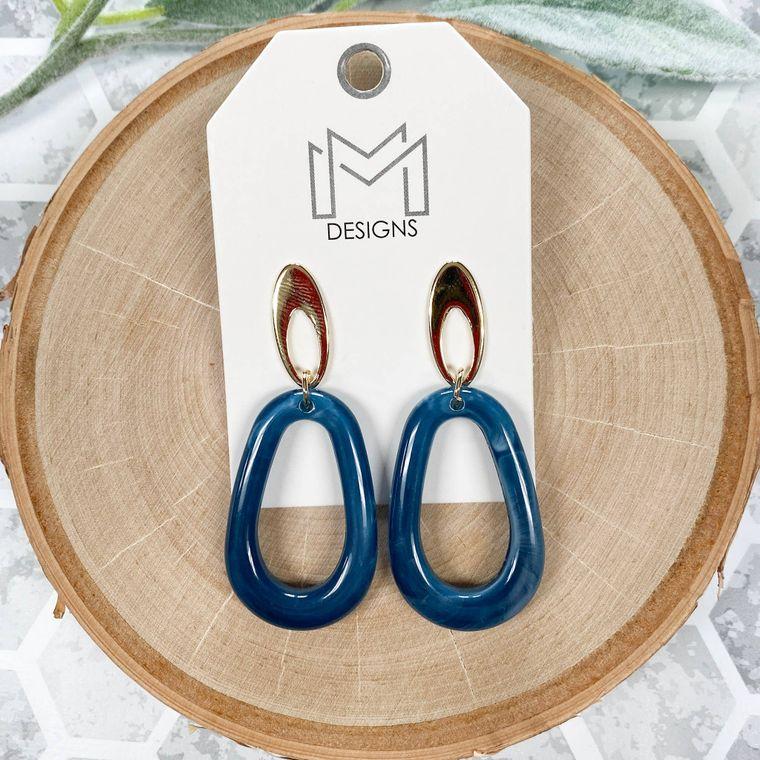 Myra Earring - Dark Turquoise