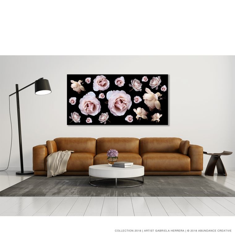 Chanel Rose Party - Wall Art