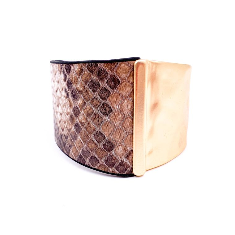 Cuff Bracelet - Light Brown