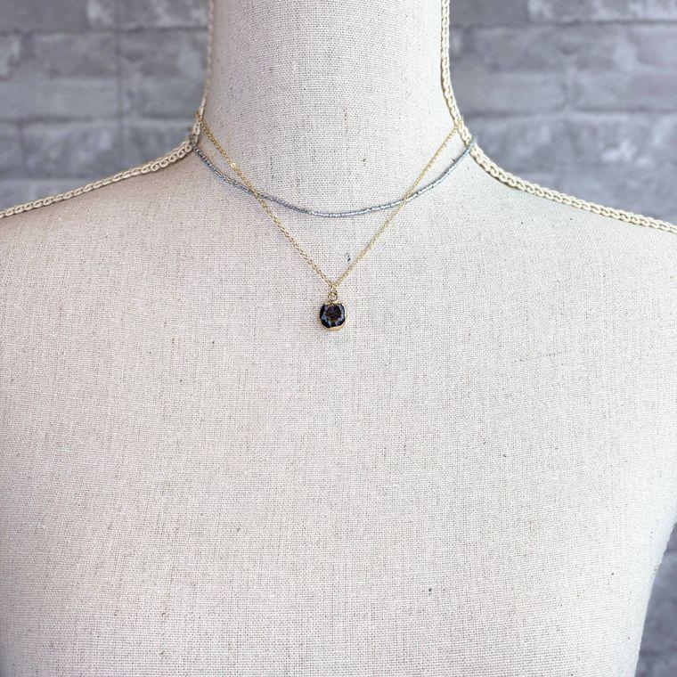 Scotland Necklace - Black