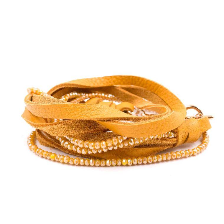 Dolly Bracelet - Mustard