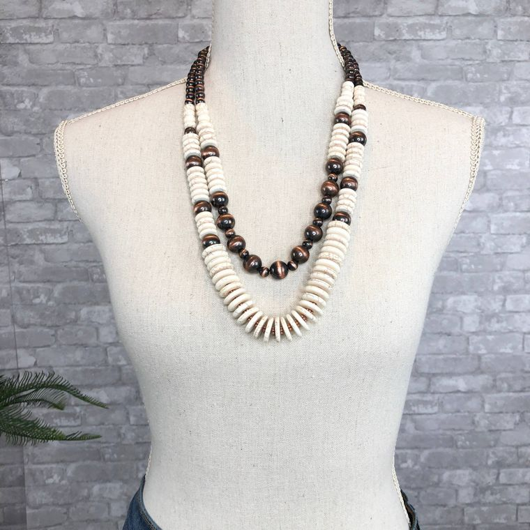 Denver Necklace - White