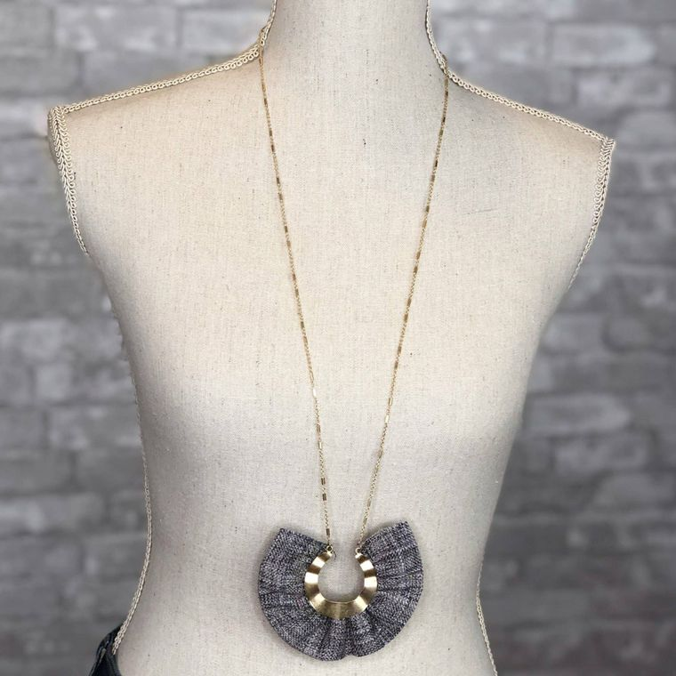 Gray - Madison Necklace