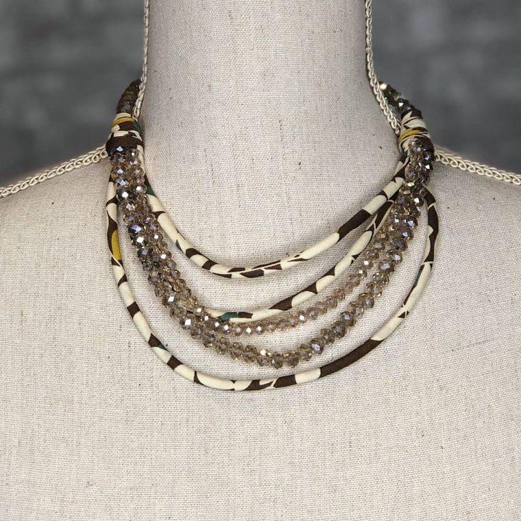 Brown - Teagan Necklace
