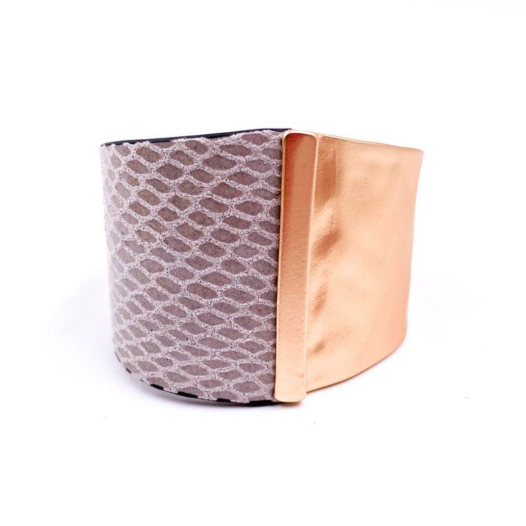 Cuff Bracelet - Cream