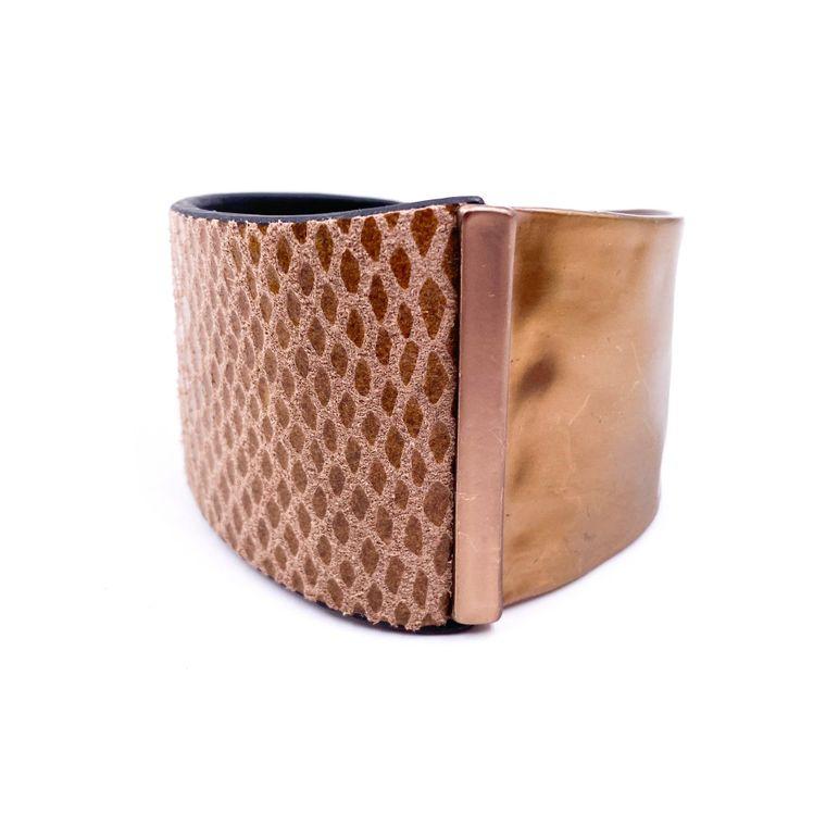 Cuff Bracelet - Brown