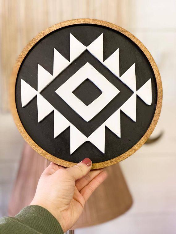 3D Aztec Round