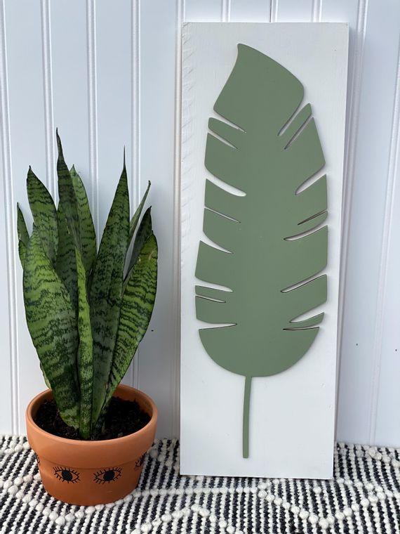 3D Leaf Sign