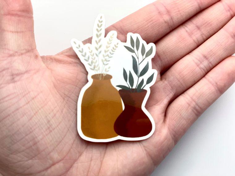 Boho Vase Sticker