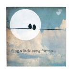 Sing a Song Large 12x12 Art Block