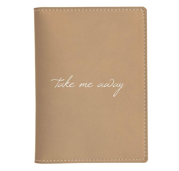 Take Me Away Passport Case