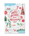 Wisconsin Holiday Postcard Set - SALE