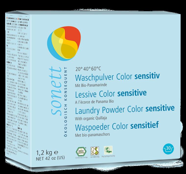 Sonett Eco Neutral Powdered Laundry Detergent for Colors 42 oz / 1.2 kg