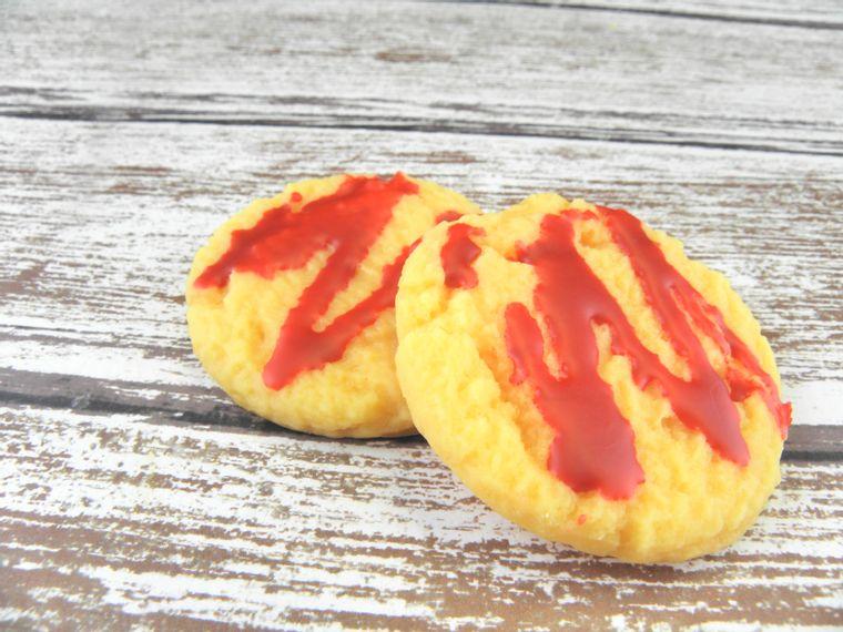 ORANGE CRANBERRY wax melt cookies