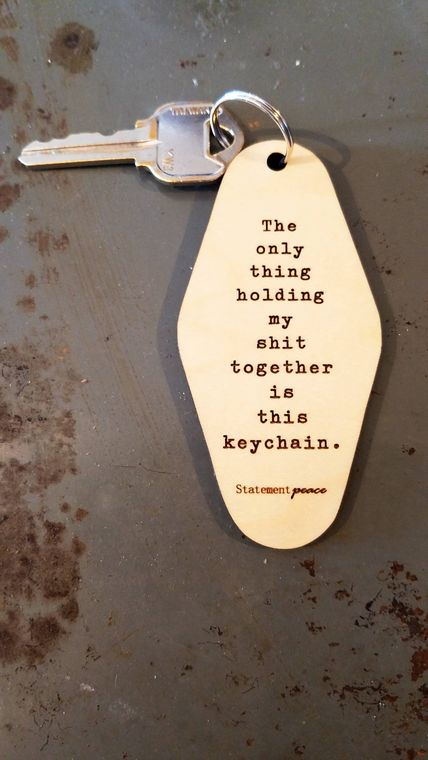 Holding it Together Keychain