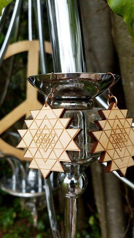 Sacred Geometry Dangles