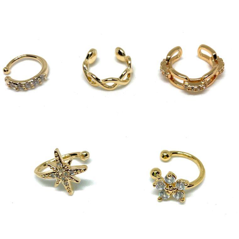 Golden Ear Cuffs