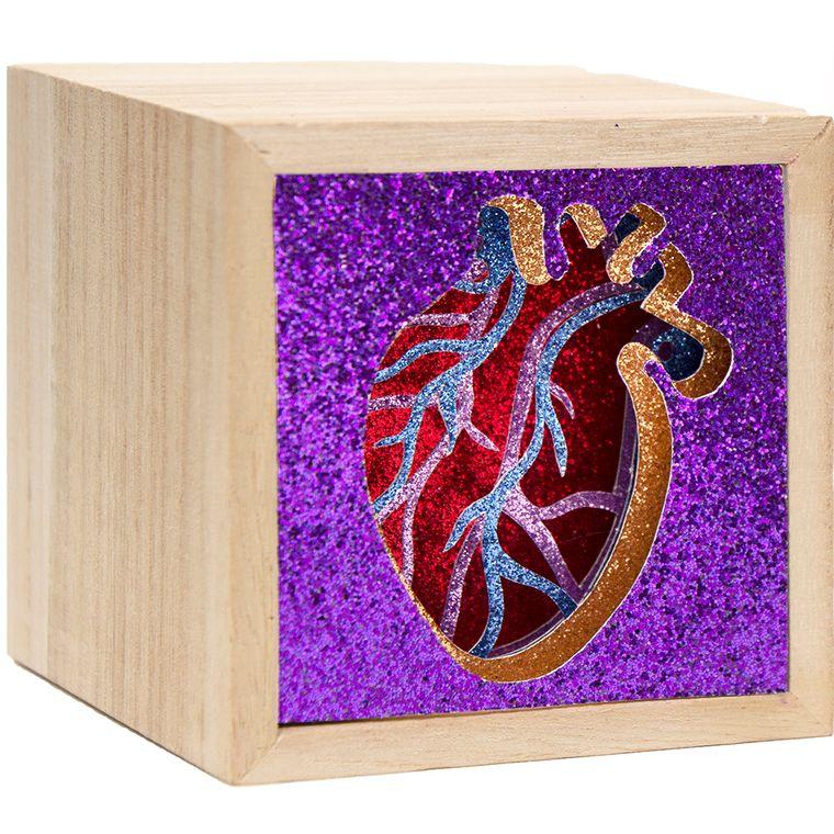 Mini Purple Heart