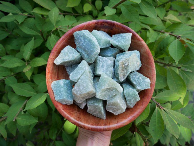 Green Aventurine Rough Stones