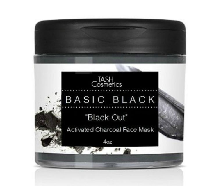 BLACK OUT CHARCOAL FACE MASQUE