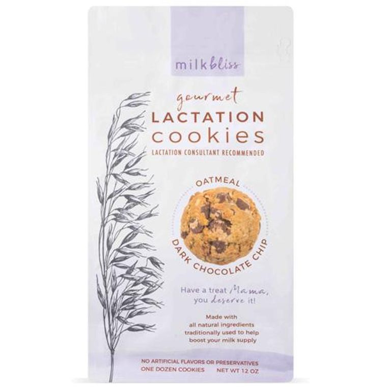 MilkBliss Dark Chocolate Lactation Cookies