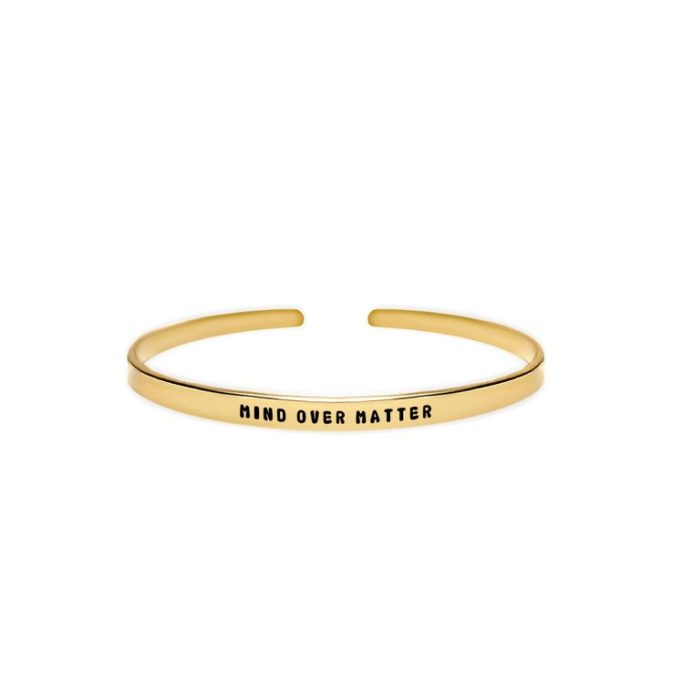 Mind Over Matter Cuff Bracelet