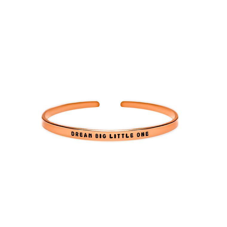 Dream Big Little One Cuff Bracelet
