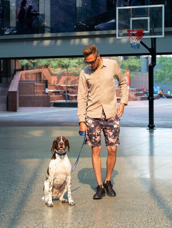 Fashionable, premium dog accessory BRAND.