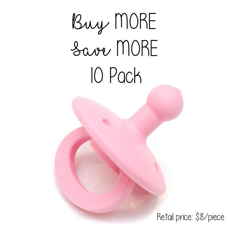 OLI2 pacifier : 10 Pack Bubblegum