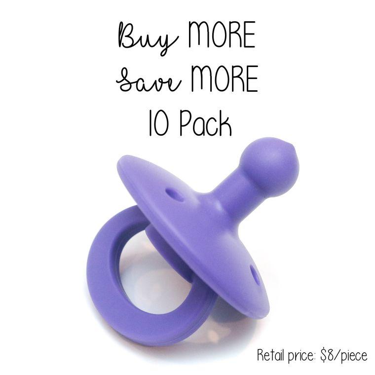OLI2 pacifier : 10 Pack Iris