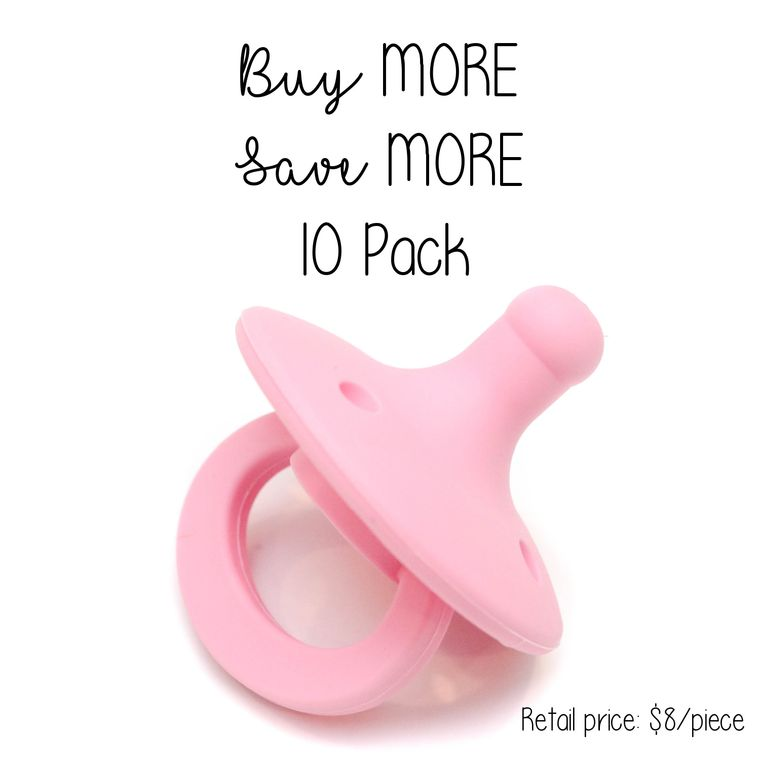 OLI pacifier : 10 Pack Bubblegum