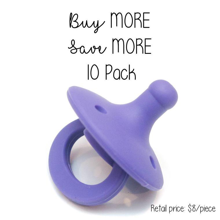 OLI pacifier : 10 Pack Iris