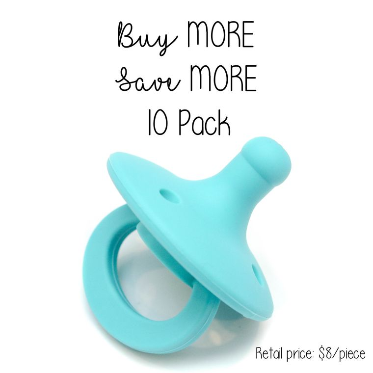 OLI pacifier : 10 Pack Turquoise